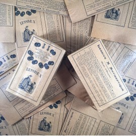 lessive X laundry 1910 1920 vintage box cardboard paper