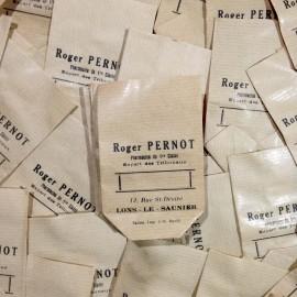 little paper bag antique vintage pharmacy roger pernot 1920