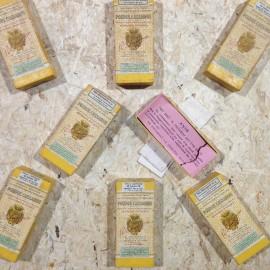 boite poudre cassarini ancien vintage raoul calumeau pharmacie 1940