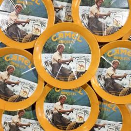 rendu monnaie dépose pièce ancien vintage camel épicerie 1980