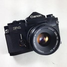 canon f-1 f1 reflex slr 35mm 50mm 1.4 fd ancien vintage argentique