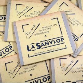 la sanvlop letter envelop vintage paper 1950 1960
