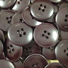 bouton grenat plastique ancien vintage mercerie 1960