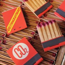 boite allumettes ultrabutane gaz co2 vintage stock ancien 1960