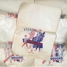 pyjamas night pan fracasse 1950 1960 design vintage antique haberdashery
