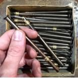 criterium porte craie ardoise bi bosse blanzy gilbert conté 1950 1960 papeterie école ancienne vintage