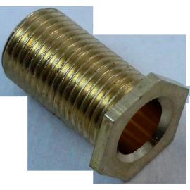 boulon creux électrique m10 laiton vintage électricité passage de cable 20mm
