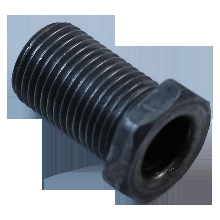boulon creux électrique m10 acier metal vintage électricité passage de cable 20mm 19mm
