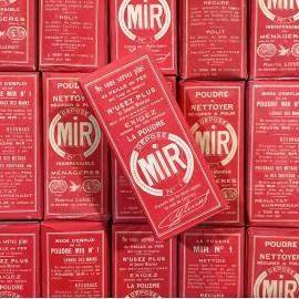 paquet boite mir rouge entretien épicerie vintage 1920 1930