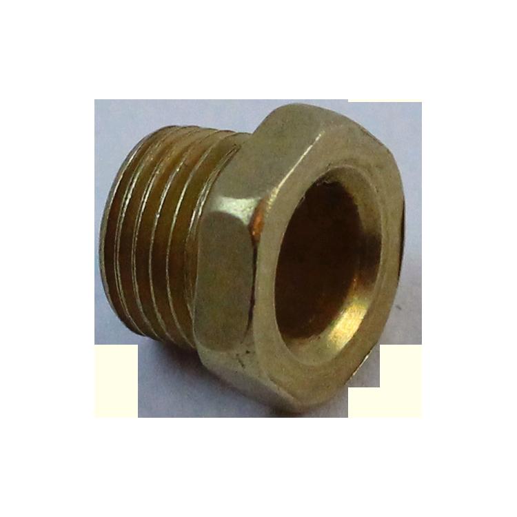 boulon creux électrique m10 laiton vintage électricité passage de cable 10mm