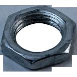 écrou fin acier zingué zinc m10 électrique métal électricité tube passage de cable luminaire fil