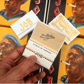 smoking paper rolling job joseph bardou old wrapping packaging 1975 1970