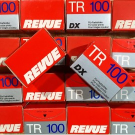 expired film 35mm revue tr 100 color print