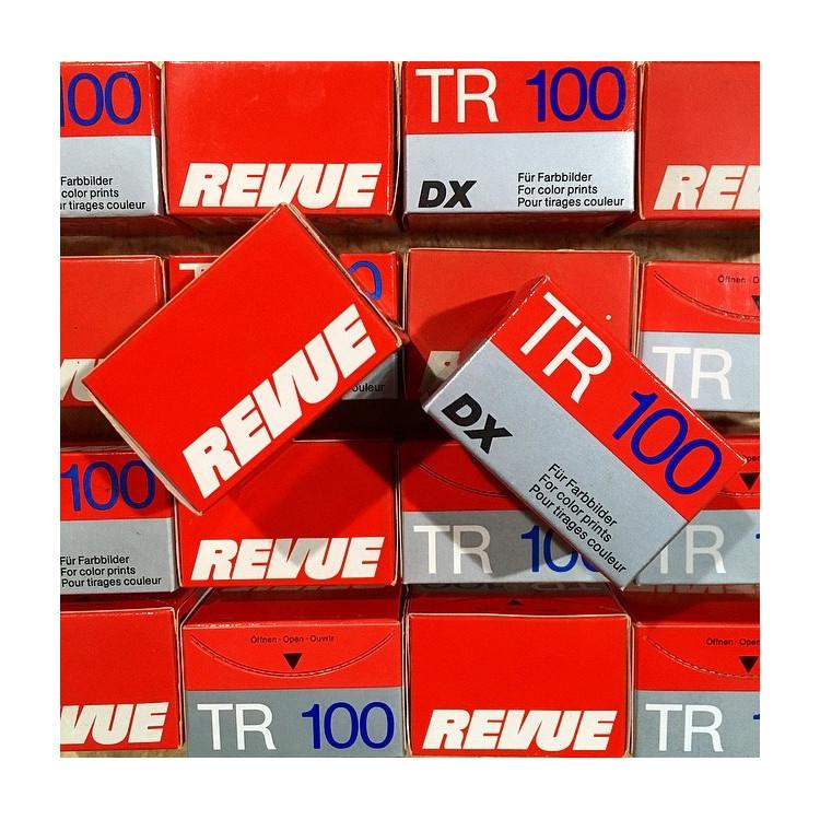 pellicule périmée argentique 35mm revue tr 100