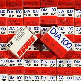 pellicule périmée argentique 35mm revue dia 100 positif diapo