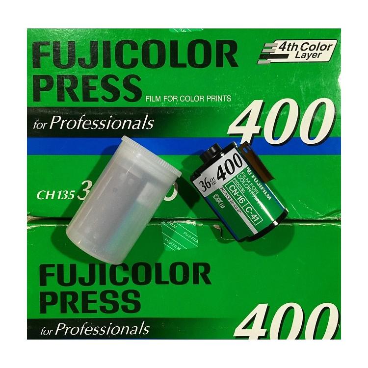 pellicule fujicolor fuji press 400 couleur 35mm 135