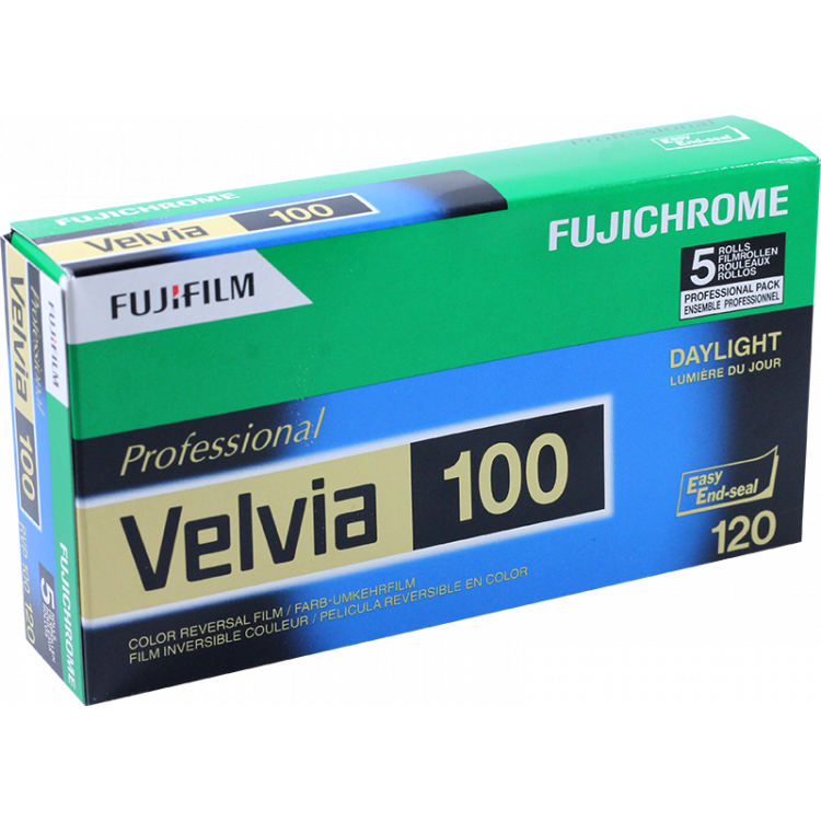 pack 5 velvia 100 fujifilm fuji diapo color diapositive slide film