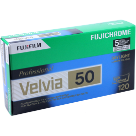 velvia 50 fuji fujifilm pack 5 120 film roll slide film color diapo medium format