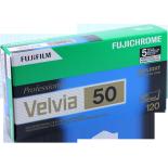 velvia 50 fuji fujifilm pack 5 120 film roll slide film color diapo medium format