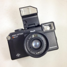 agfa optima sensor paratronic solitaire 40mm 2.8 flash 135 compact