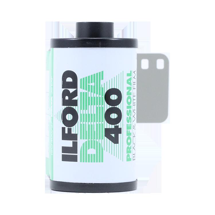 ilford delta 400 35mm 36 poses pellicule argentique noir et blanc core shell grain