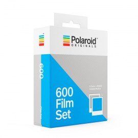 bipack twin set polaroid originals impossible film 600 color for polaroid white frame vintage black and white