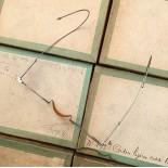 lunette ancienne métal XIX ème 1880 1870 titane paladium vue soleil solaire edgar retro large grande écaille