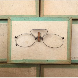 glasses spectacles vintage antique 19th century antique antiques metal 1880 1870 fernand binocles nose pliers