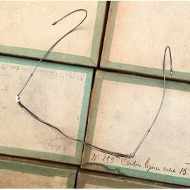 lunette ancienne métal XIX ème 1880 1870 titane paladium vue soleil solaire victor pilote retro large