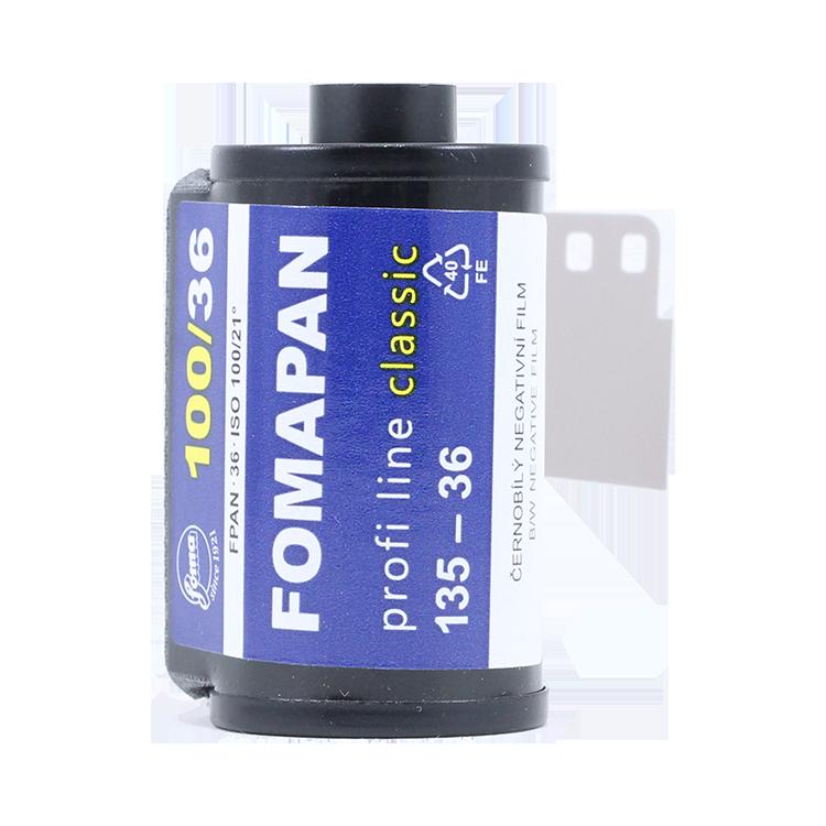 fomapan classic 100 35mm 135 black and white film