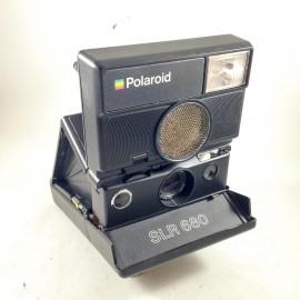polaroid 600 slr 680 autofocus sonar ancien vintage reflex instantané