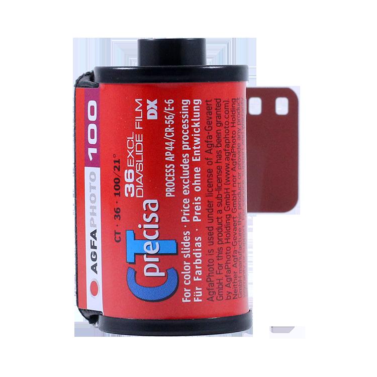 agfa ct precisa 100 35mm 36 exposures color slide film