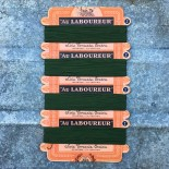 carte de fil de soie tressée extra au laboureur ancienne vintage 1930