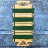 carte de fil de soie tressée extra la ravageuse ancienne vintage 1930