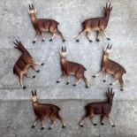 figurine plastique ancien vintage jouet jouets usine chamois animaux animal 1970