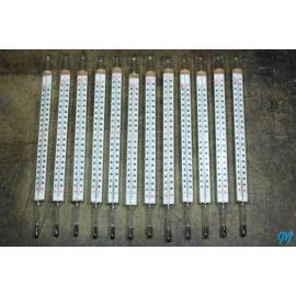 grand thermomètre industriel ancien usine atelier 200°c 200 degrés vintage 1920 1930 1923 verre