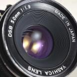 contax 139 quartz reflex yashica 50mm 1.9 dsb argentique film 24 36 135