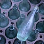 bouteille ancienne petite brasserie georges lyon vintage 1920 1930 ancien verre limonade soda