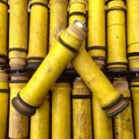 vintage wood bobbin yellow antique 1930