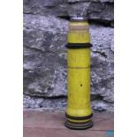 bobine ancienne bois métal phare jaune coeur 1930 1940