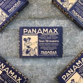 petit paquet de lessive panamax bleu ancien 1940 vintage stock épicerie ancienne