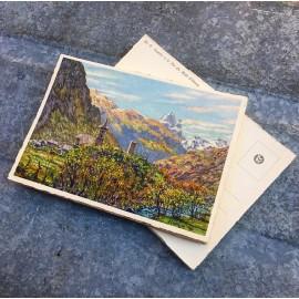 carte postale ancienne vue lourdes 1932 1930 1940 zuppinger castets pic midi ossau