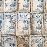 sachet ancien support col vetement femme homme 1900 1920 egypte lumen