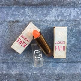 rouge a levre baton ancien vintage recharge 1970 1980 maquillage jacques fath
