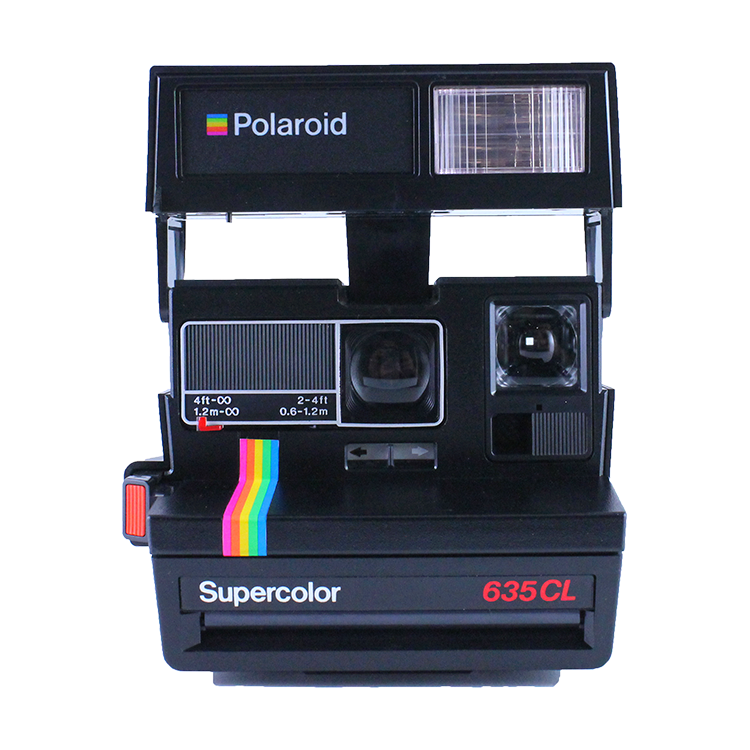 polaroid 635cl close up supercolor 600 instantané pola 600 vintage ancien