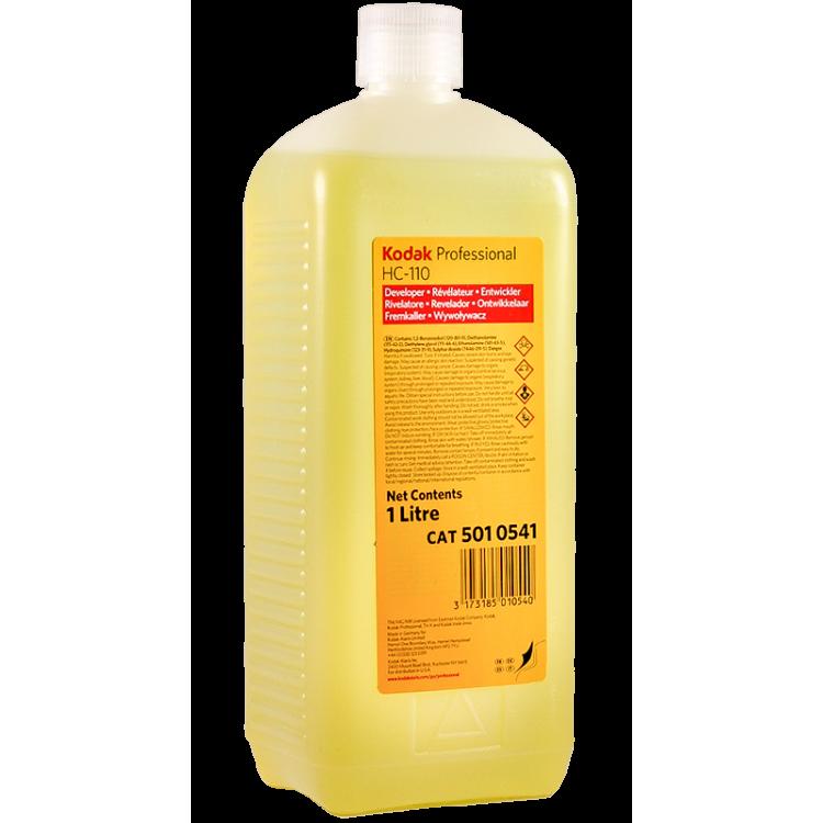 kodak hc 110 révélateur noir et blanc film liquide concentré pellicule 1L