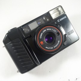 canon af35m2 af35mII vintage compact 35mm camera 38m 2.8 point and shoot