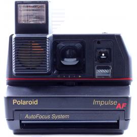 polaroid vintage impulse autofocus retardateur 600 1980