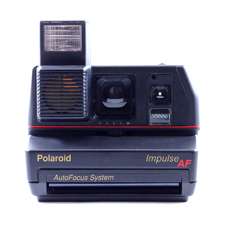 polaroid impulse autofocus 600 pola self timer af 1980 vintage