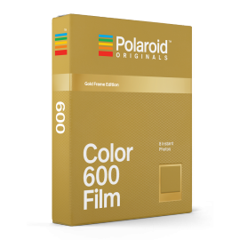 polaroid originals instant color film for 600 cameras color gold golden metal metallic